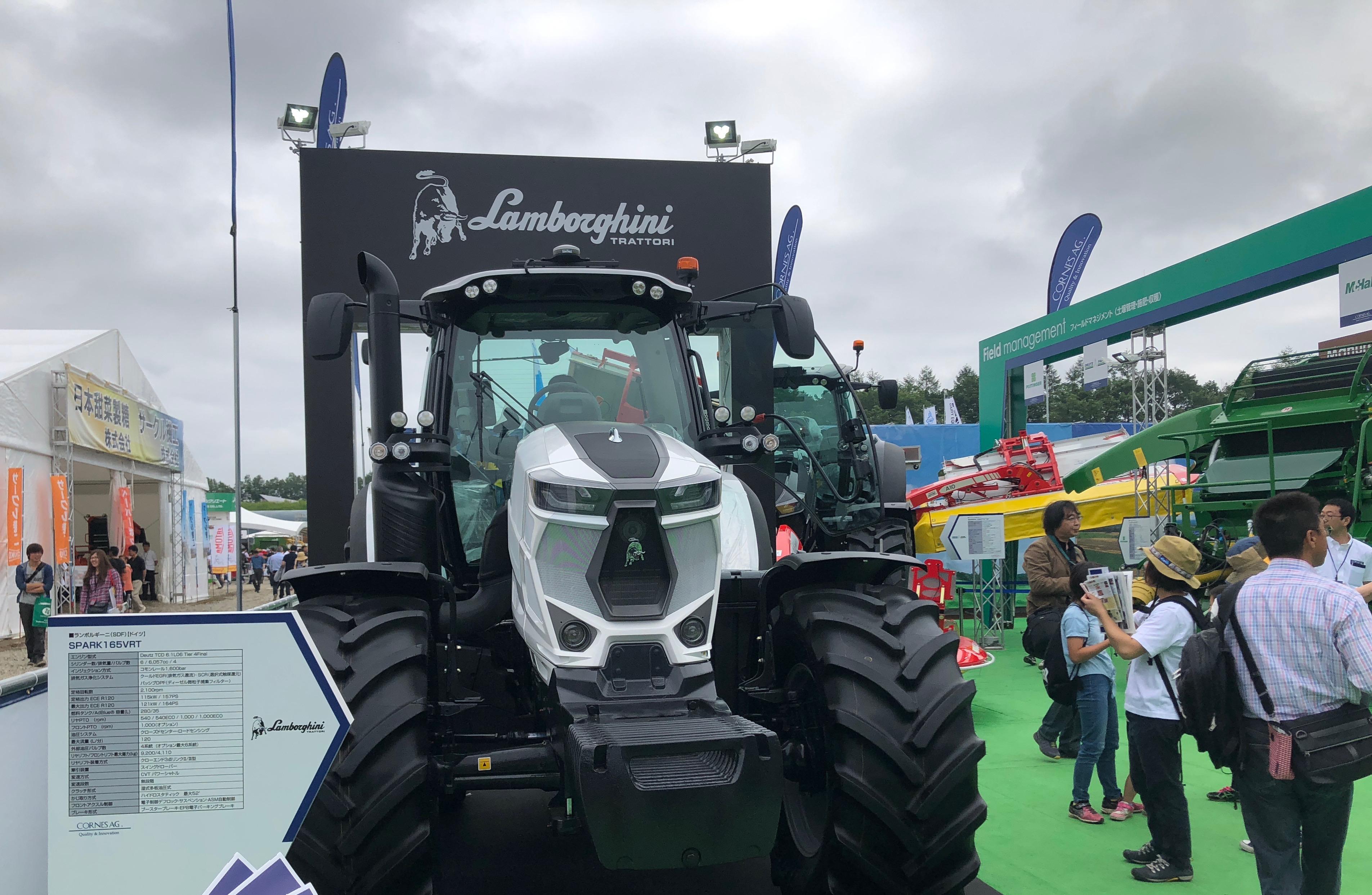 農機展2018は帯広で7月開催!ランボルギーニのトラクターも参戦?第34回国際農業機械展