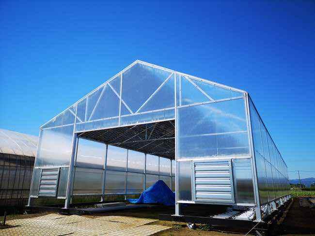 ビニールハウスを自然災害から作物を守るには「がっちりHOUSE」コストゼロも実現する!