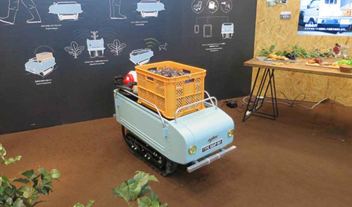 アグビーとは?運搬作業が便利になる農機ロボット「アグビー(agbee)」!